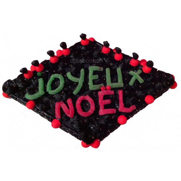 GATEAU DE BONBONS JOYEUX NOEL