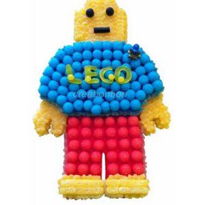 GATEAU DE BONBONS LEGO