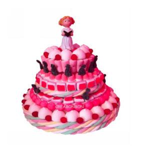 Gâteau de bonbons communion